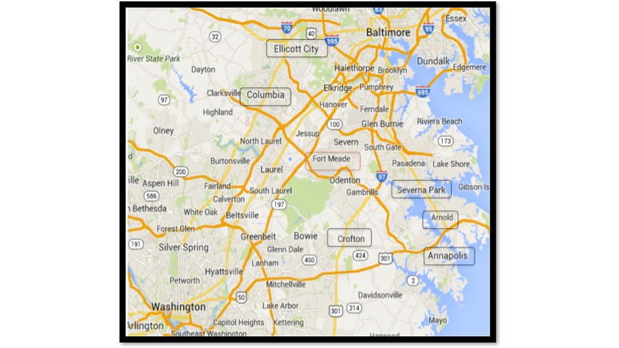 where to live near Ft Meade