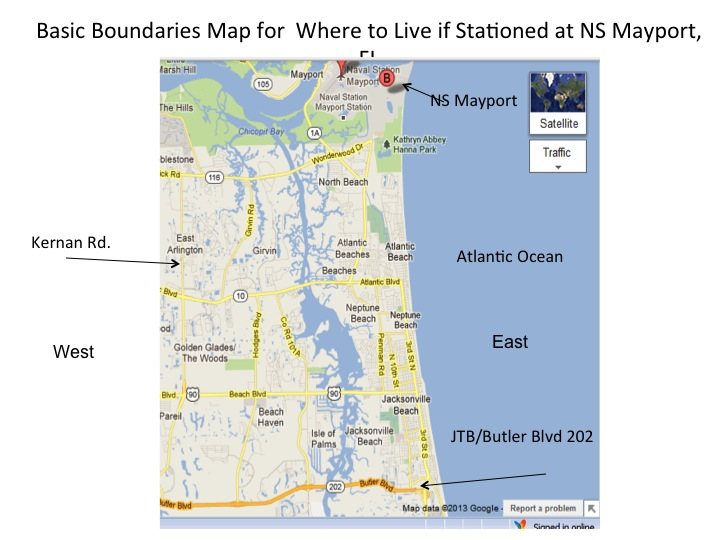 Boundaries for NS Mayport
