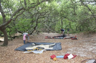 Camping At First Landing Park