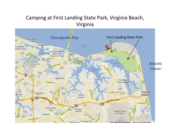 Camping At First Landing Park