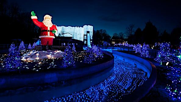 Busch gardens in virginia military town advisor - Busch gardens christmas town rides ...