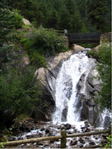 Helen Hunt Jackson Falls Colorado Springs
