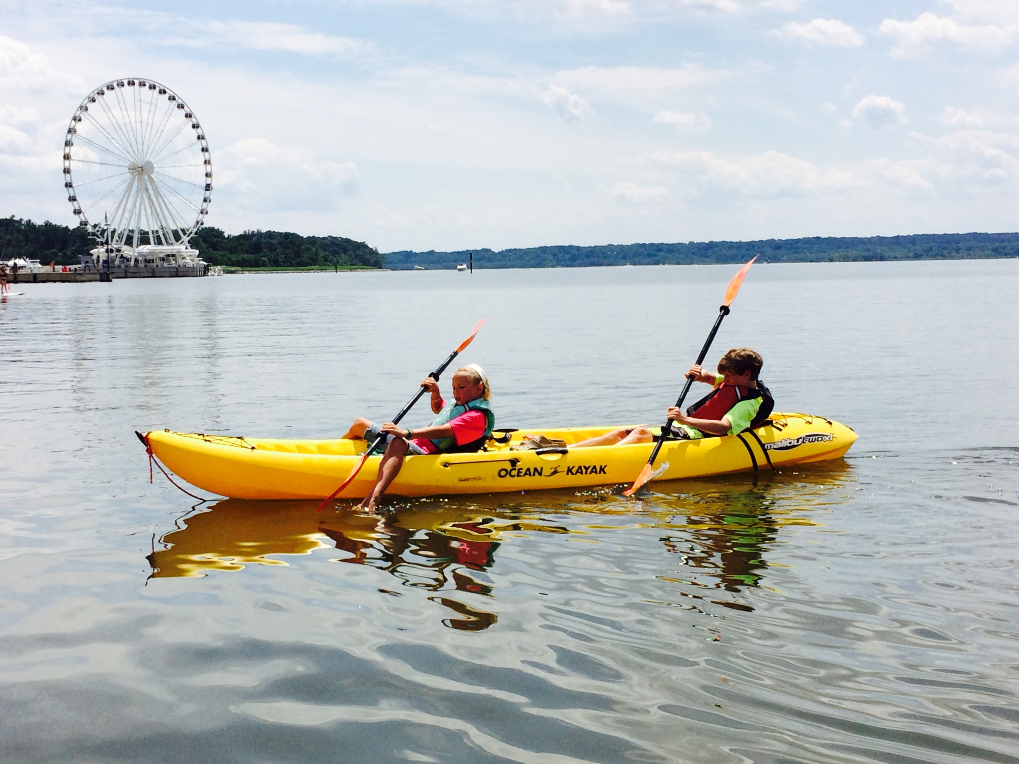 Kayaking Pedal Boats Stand Up Paddle Boarding In Washington DC