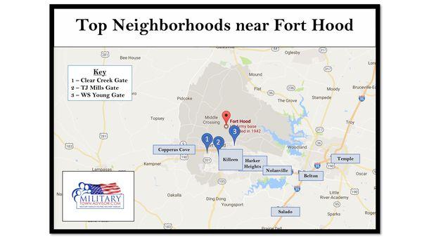 Top Neighborhoods And Areas Near Fort Hood Military Base