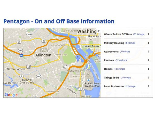 Where to live in dc military town advisor for Moving to washington dc advice